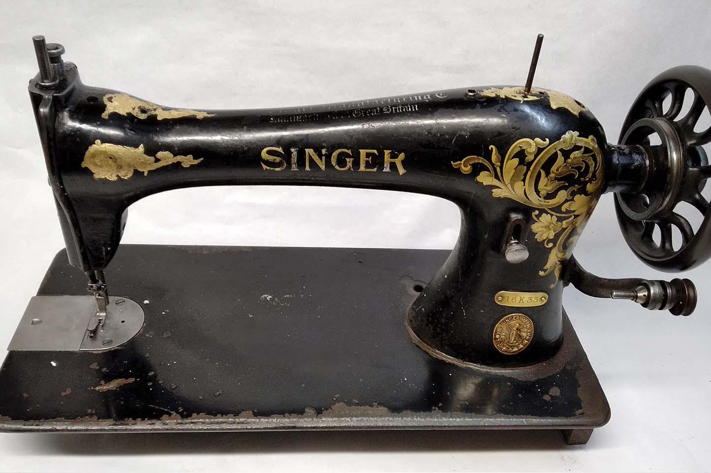 singer 16k33 sin restaurar