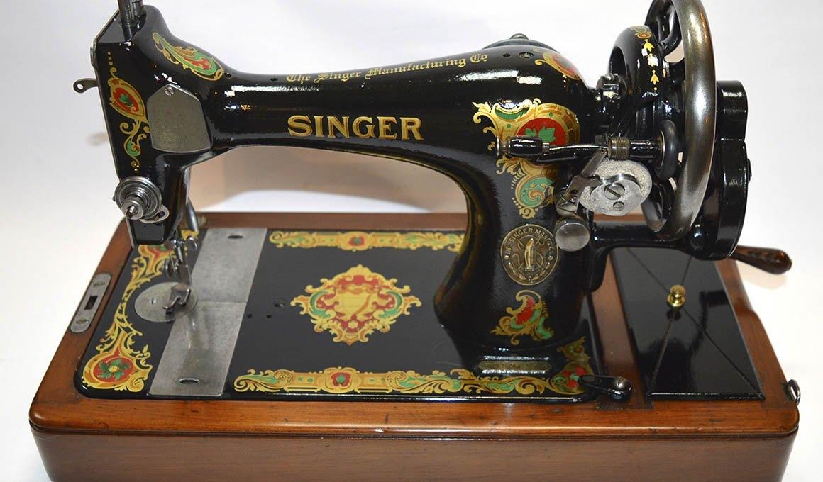 máquinas de coser singer restauradas