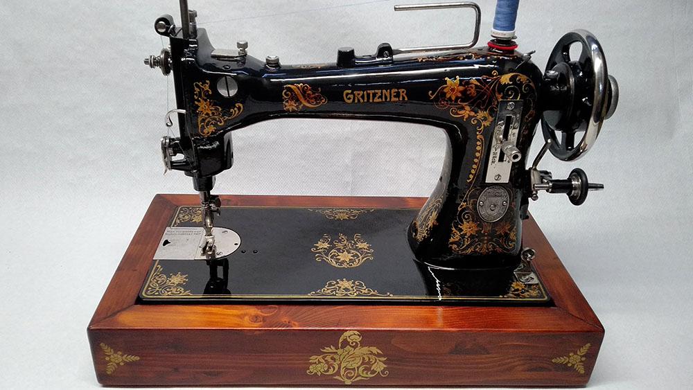 staurar máquina de coser gritzner
