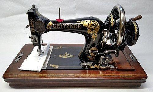 maquina GRITZNER restaurada- frontal